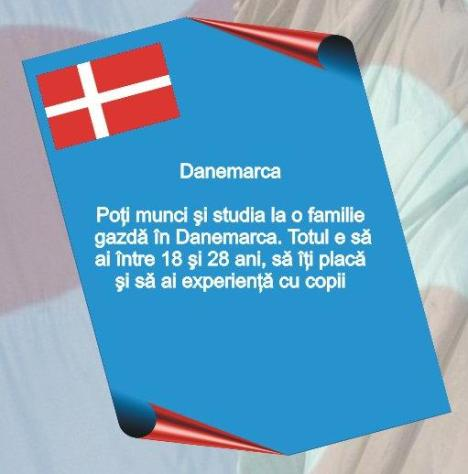 Au Pair Danemarca. Tel de contact : 0762655745 Florin Carare